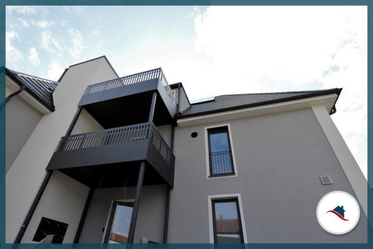 Wohnung Krumbach Balkon