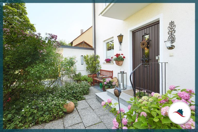 Doppelhaushälfe-Puchheim-Eingang
