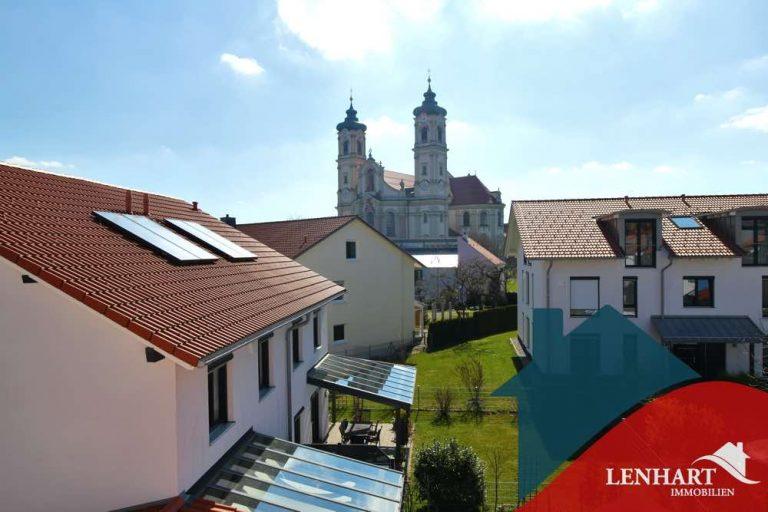Doppelhaushälfte-Ottobeuren-Blick_Basilika