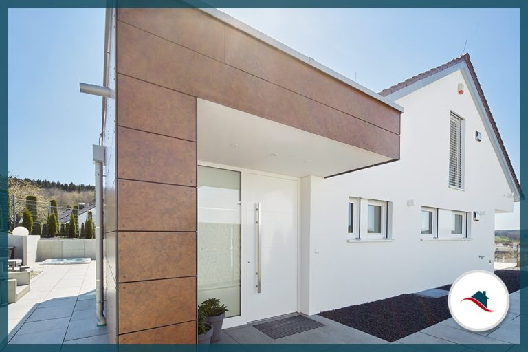 Einfamilienhaus-Krumbach-Eingang