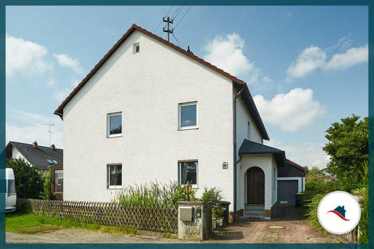 Einfamilienhaus-Niederraunau-Ostansicht