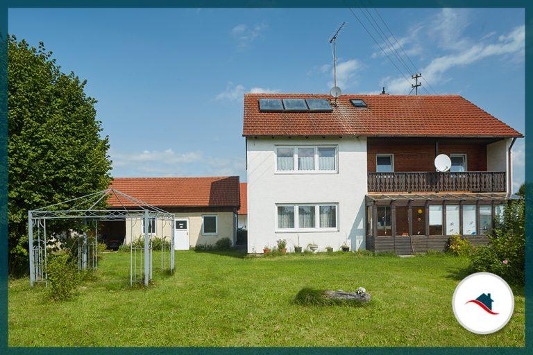 Einfamilienhaus-Niederraunau-Südansicht