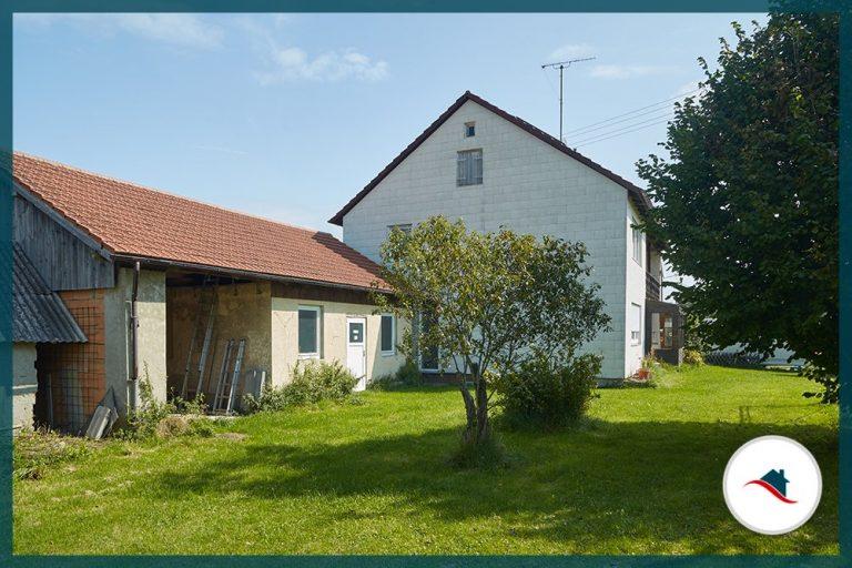 Einfamilienhaus-Niederraunau-Westansicht