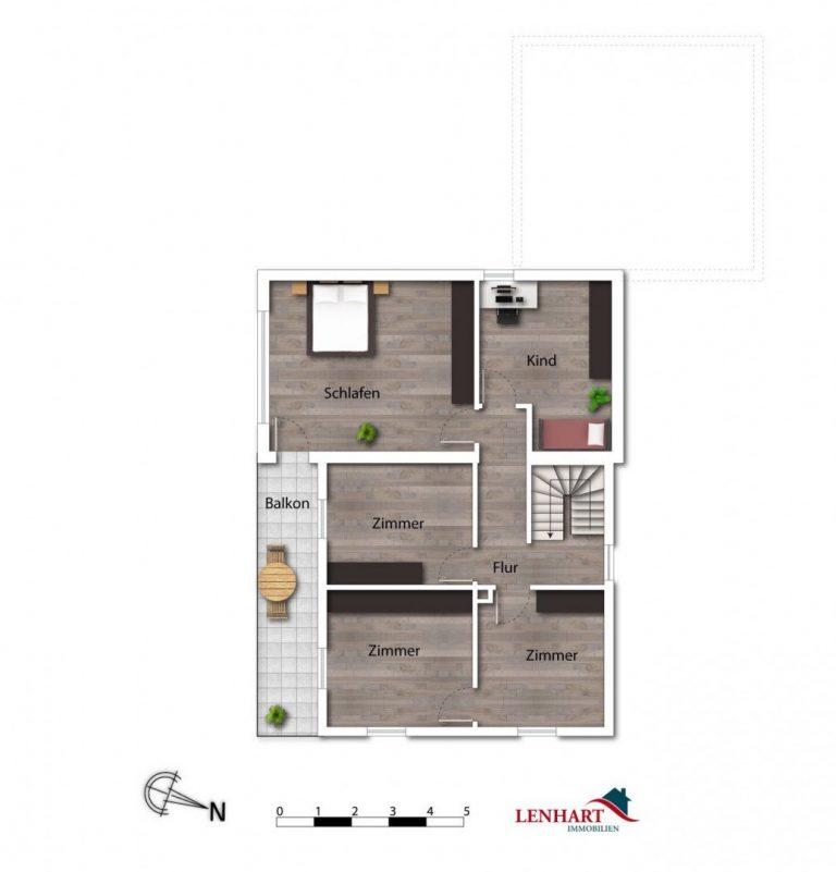 Einfamilienhaus_Niederraunau_Grundriss_OG