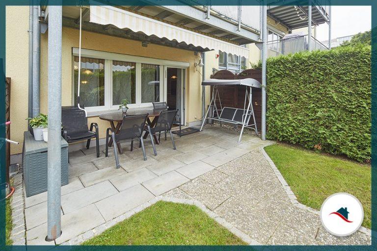 Erdgeschosswohnung-Augsburg-Terrasse