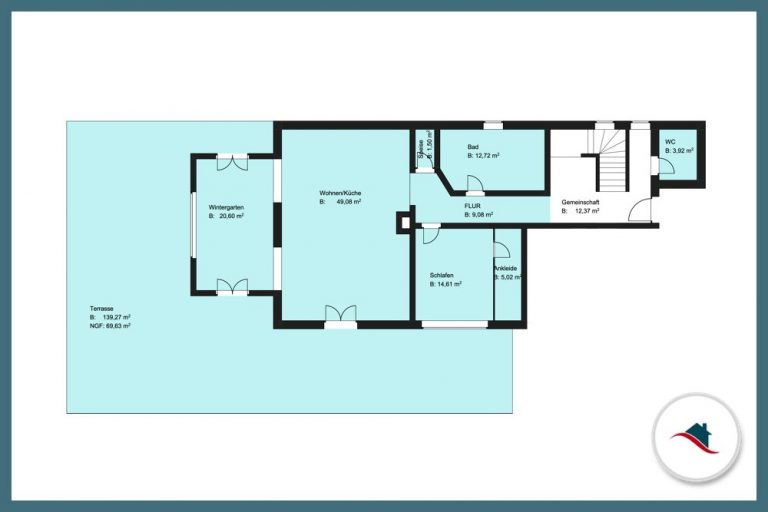 Erdgeschosswohnung-Diedorf-Wohnen