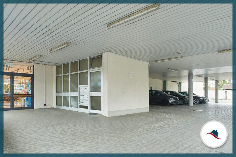 Etagenwohnung-Krumbach-Eingang