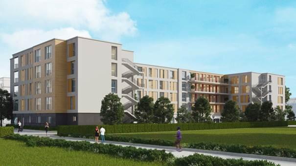 Pflegeimmobilie Berlin-Bernau Ansicht