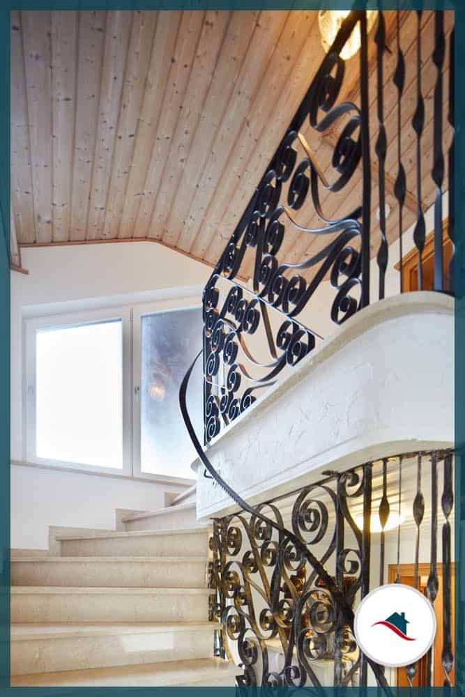 Zweifamilienhaus-Meitingen-Treppenhaus