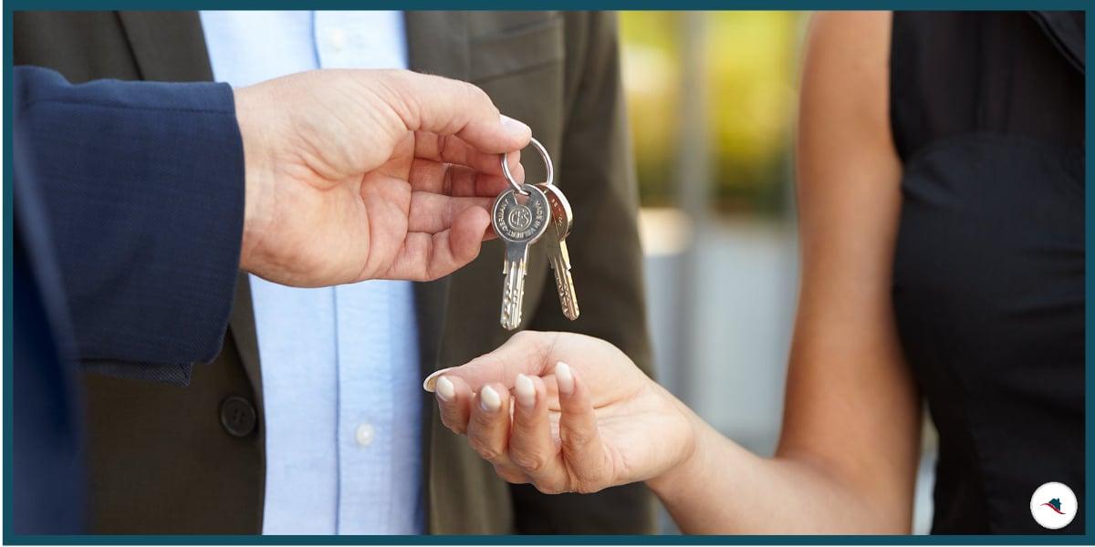 Immobilienmakler Provision Schlüsselübergabe