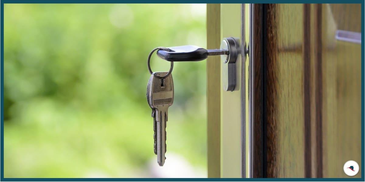 Immoblie verkaufen Schlüssel